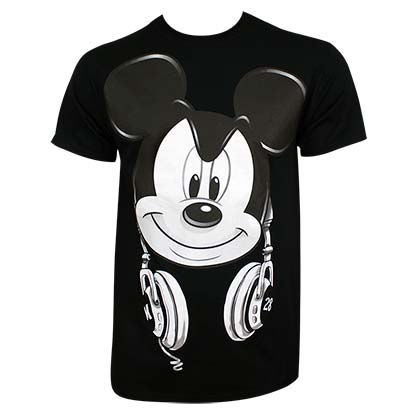 Camiseta Mickey Mouse DJ Mickey
