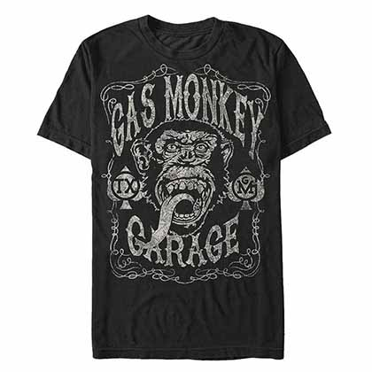 Camiseta Gas Monkey Garage Vintage Monkey