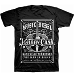 Camiseta Johnny Cash 261369