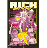 Póster Rick and Morty - Action Movie - 61x91,5cm