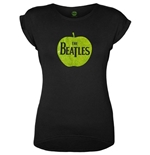 Camiseta Beatles de mulher - Design: Apple Logo