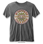 Camiseta Beatles de homem - Design: Sgt Pepper Drum