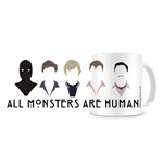 American Horror Story Caneca All Monster Are Human