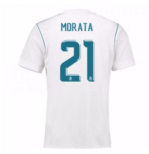 Camiseta 2017/18 Real Madrid 2017-2018 Home (Morata 21)