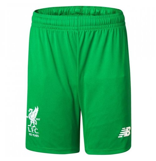 Shorts Liverpool FC 2017-2018 Home (Verde)