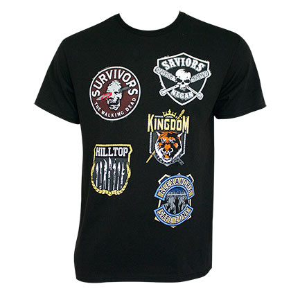 Camiseta The Walking Dead Factions