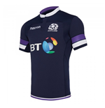 Camiseta Escócia Rugby 2017-2018 Home Authentic Pro Body Fit