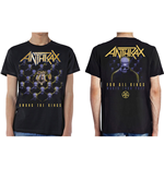Camiseta Anthrax de homem - Design: Among the Kings