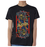 Camiseta Anthrax de homem - Design: Evil King