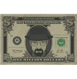 Póster Breaking Bad - Heisenberg Dollar - 61X91,5 Cm