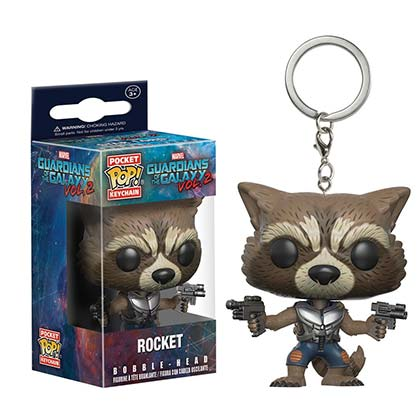 Chaveiro Guardians of the Galaxy Rocket Raccoon