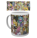 Caneca Rick and Morty - Characters
