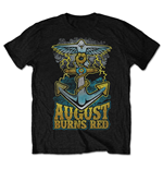 Camiseta August Burns Red de homem - Design: Dove Anchor