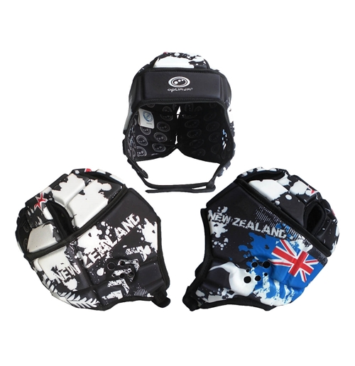 Capacete rugby All Blacks