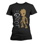 Camiseta Guardians of the Galaxy Vol 2 I Am Groot Scribbles