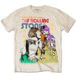 Camiseta The Rolling Stones Mick & Keith Watercolour Stars