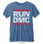Camiseta Run DMC Vintage Logo with Burn Out Finishing