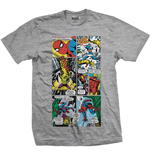 Camiseta Marvel Superheroes Panels