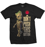 Camiseta Marvel Super heróis Guardians of the Galaxy Vol. 2 Groot & Button