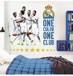 Vinil decorativo para parede Real Madrid 274256