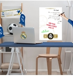 Vinil decorativo para parede Real Madrid 274257