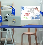 Vinil decorativo para parede Real Madrid 274259