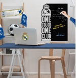 Vinil decorativo para parede Real Madrid 274261