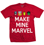 Camiseta Marvel Superheroes de homem - Design: Make Mine