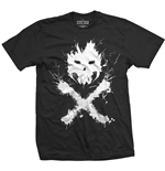 Camiseta Marvel Superheroes de homem - Design: Captain America Civil War Crossbones Icon