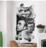 Vinil decorativo para parede James Dean 274637