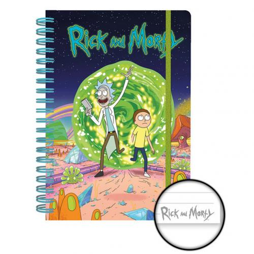 Caderno Rick and Morty 275733