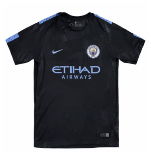 Camiseta 2017/18 Manchester City FC 2017-2018 Third