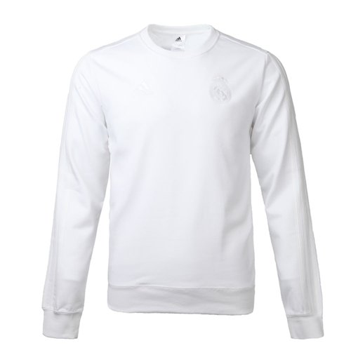 Compra Suéter Esportivo Real Madrid 2017-2018 (Branco) Original 5ddbabbdb9840