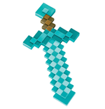 Minecraft Réplica Plástico Diamond Sword 51 cm