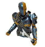 Batman Arkham Origins Boneco Deathstroke Previews Exclusive 15 cm