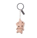 Chaveiro Marvel Super heróis Groot Character 3D