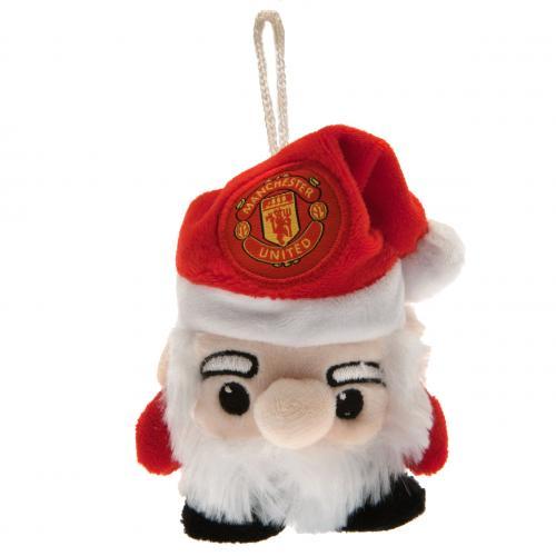 Compra Pelúcia Papai Noel Manchester United Fc Original