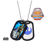 Placa de identidade Star Wars 280318