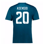 Camiseta 2017/18 Real Madrid Third (Asensio 20)