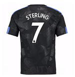 Camiseta 2017/18 Manchester City FC Third (Sterling 7)
