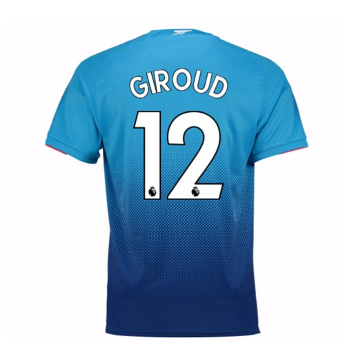 Camiseta 2017/18 Arsenal 2017-2018 Away (Giroud 12)