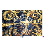 Póster Doctor Who - Exploding Tardis - 61X91,5 Cm