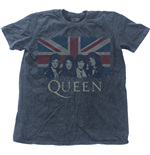 Camiseta Queen - Vintage Union Jack