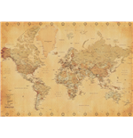 Poster World map 286416