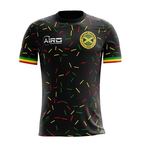 Compra Camiseta Jamaica Futebol 2018-2019 Third Concept de criança 4694e30d48791