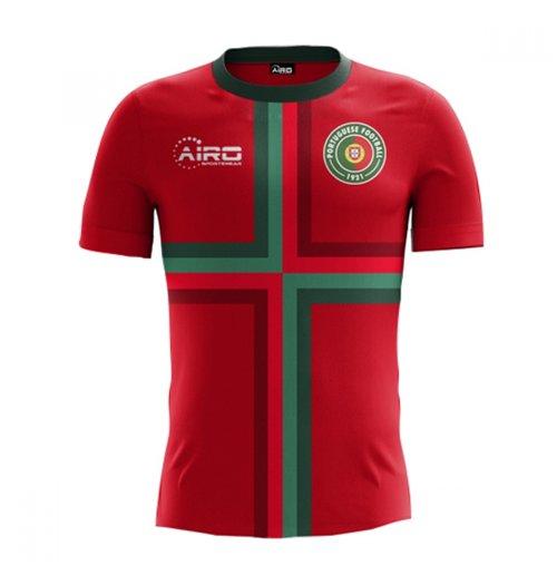 Compra Camiseta Portugal Futebol 2018-2019 Home Concept Original 080b92581d5c6