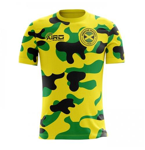 Compra Camiseta Jamaica Futebol 2018-2019 Home Concept Original de1b22a676aad