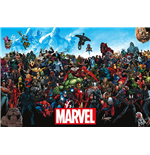 Poster Marvel Superheroes 288087