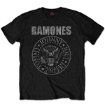 Camiseta Ramones Distressed Presidential Seal