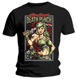Camiseta Five Finger Death Punch de homem - Design: Assassin